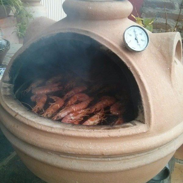 Horno barbacoa kamado hornos fornax - Hornos de barro precios ...